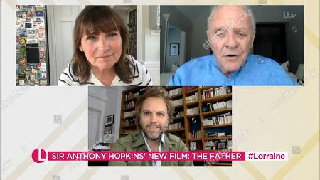 Lorraine Kelly, Sir Anthony Hopkins, Florian Zeller