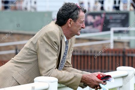 Trainer and former Olympian Sir Mark Todd during the race meeting at Nottingham Racecourse, Nottingham