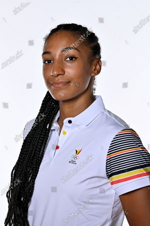 Belgian heptathlon athlete Nafissatou 'Nafi' Thiam pictured during a photoshoot for the Belgian Olympic Committee BOIC - COIB ahead of the Tokyo 2020 Olympic Games, in Brussels, Wednesday 09 June 2021.