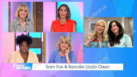 Editorial photo of 'Loose Women' TV Show, London, UK - 10 Jun 2021