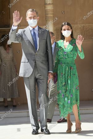 Spanish Royals attend the Opening of the exhibition 'Odalisques, From Ingres to Picasso', Granada