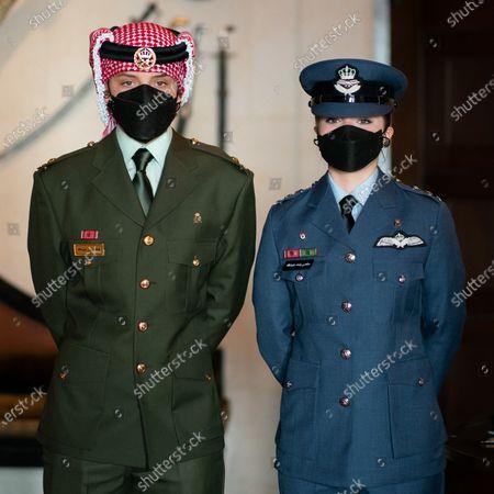 Their Royal Highnesses Prince Hashem and Princess Salma attend a celebration to mark Jordan's state centennial, Amman