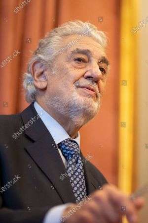 Editorial photo of Placido Domingo Receives The Title Of 'honorary Ambassador Of The World Heritage Of Spain, Madrid - 10 Jun 2021