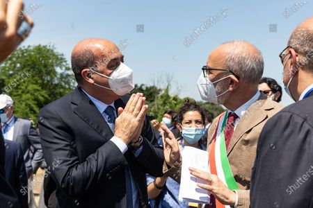 Editorial image of Inauguration of the  G20 Green Garden at the Appia Antica park, Rome, Italt, Italy - 10 Jun 2021