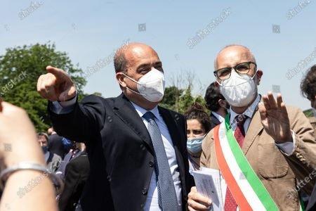 Editorial photo of Inauguration of the  G20 Green Garden at the Appia Antica park, Rome, Italt, Italy - 10 Jun 2021