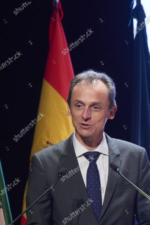 Pedro Duque attends the Delivery of National Innovation and Design Awards 2020 at Palacio de Congresos on June 10, 2021 in Granada, Spain