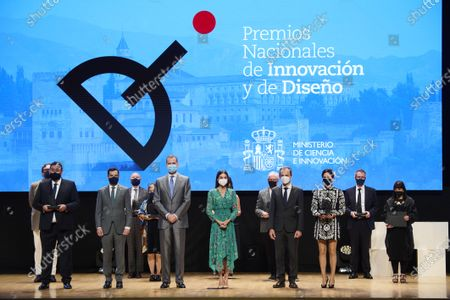 Spanish Royals attend the Delivery of National Innovation and Design Awards 2020, Granada