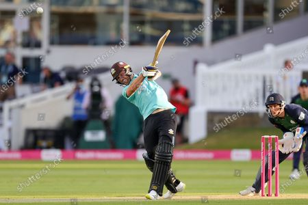Editorial picture of Middlesex County Cricket Club v Surrey County Cricket Club, Vitality T20 Blast South Group - 10 Jun 2021