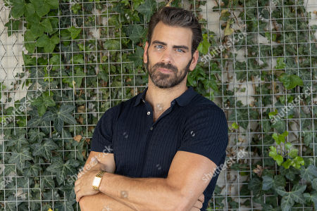 Model Nyle DiMarco poses for a portrait