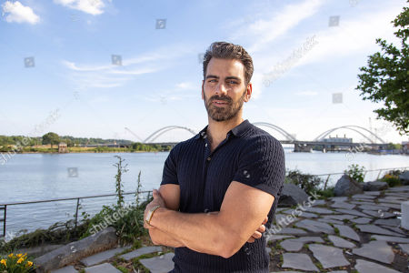 Stock Picture of Model Nyle DiMarco poses for a portrait