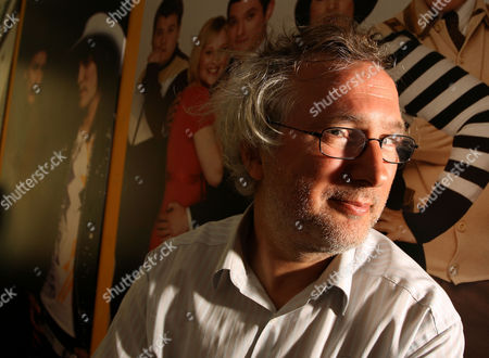 Editorial photo of Henry Normal at the Baby Cow Productions office, London, Britain - 06 Jul 2010