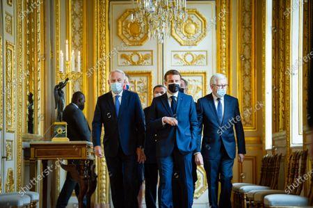 Editorial image of Inauguration of the Hotel de la Marine by President Macron, Paris, France - 10 Jun 2021