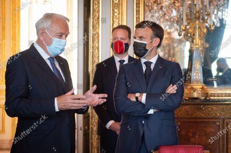 Inauguration of the Hotel de la Marine by President Macron, Paris