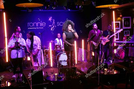Editorial picture of Mica Paris in concert at Ronnie Scott's, London, UK - 10 Jun 2021