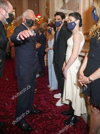 Editorial image of Prince Charles and Camilla Duchess of Cornwall visit to the Royal Opera House, London, UK - 10 Jun 2021