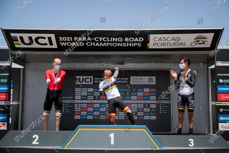Ricardo Ten Argiles of Spain wins Gold in the Men's C1 Time Trial ahead of Mikhail Astashov of RPC and Michael Teuber of Germany.