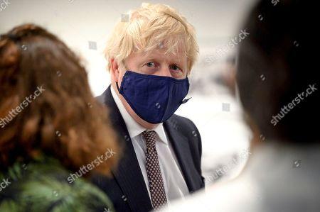 Boris Johnson at the Maritime Museum, Falmouth