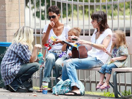 Editorial photo of Halle Berry and daughter Nahla Ariela Aubry out and about, Los Angeles, America - 11 Jul 2010