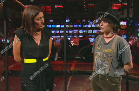 Davina McCall with Shabby Katchadourian