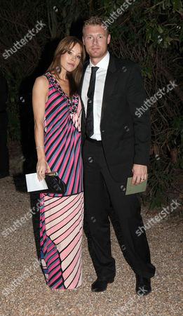 Rachael Flintoff  and Andrew 'Freddie' Flintoff