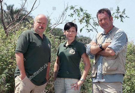 Rod Arthur, Suzanne McNabb and Nigel Marvin