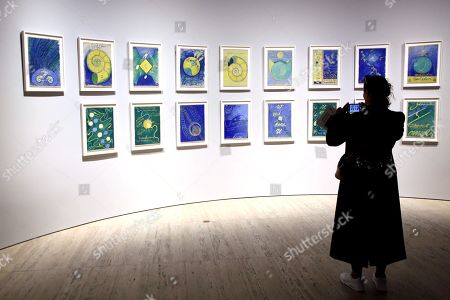 'Hilma af Klint' The Secret Paintings exhibition, Art Gallery of NSW