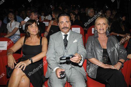 Renata Polverini, Andy Garcia and Virna Lisi