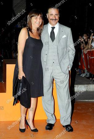 Renata Polverini and Andy Garcia