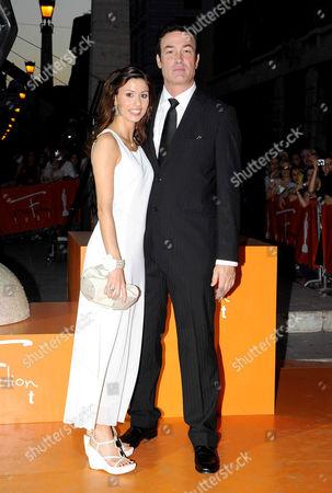 Daniel McVicar and wife