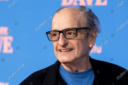 David Paymer poses on the red carpet prior to the premiere of the season two of FX television show 'Dave' at The Greek Theater in Los Angeles, California, USA, 10 June 2021. 'Dave' season 2 will be available to stream on FX on 11 June.