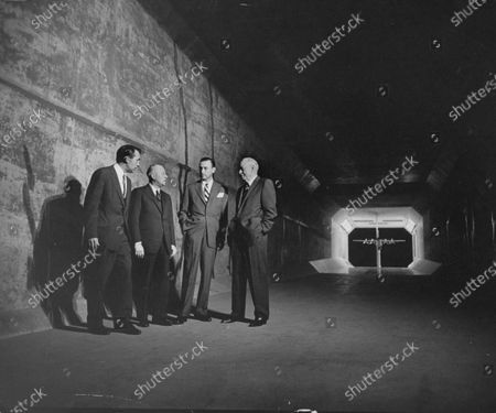 Donald Douglas (L), with other men important to the economy boom in Los Angeles.