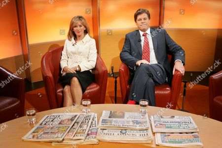 Andrea Catherwood and Andrew Rawnsley