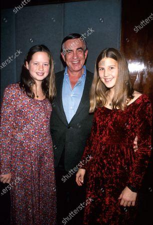 Producer Martin Bregman and daughters.