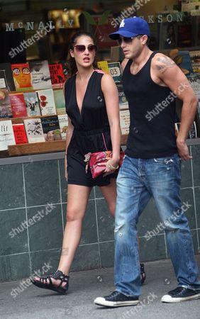 Roxy Olin and Alex Lobel