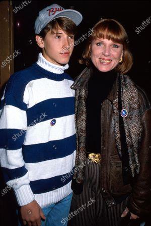 Actress Mariette Hartley and son ean.