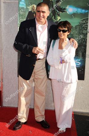 Alfred Molina and Jill Gascoine