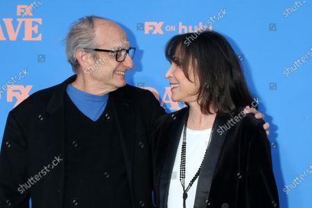 Stock Photo of David Paymer and Gina Hecht