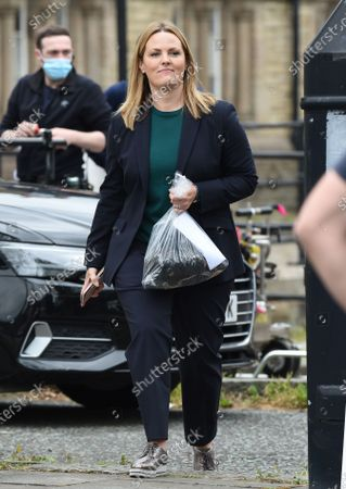 Editorial photo of 'Stay Close' TV show filming, Bury, Greater Manchester, UK - 10 Jun 2021