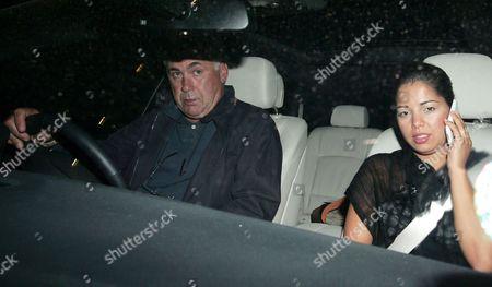 Carlo Ancelotti and Marina Cretu