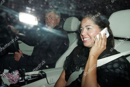 Editorial photo of Carlo Ancelotti and Marina Cetu out and about, London, Britain - 13 Jul 2010