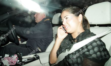 Editorial picture of Carlo Ancelotti and Marina Cetu out and about, London, Britain - 13 Jul 2010