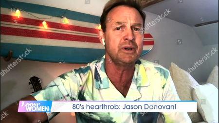 Stock Photo of Jason Donovan