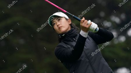 Michelle Wie West during the second round of the U.S. Women's Open golf tournament in San Francisco