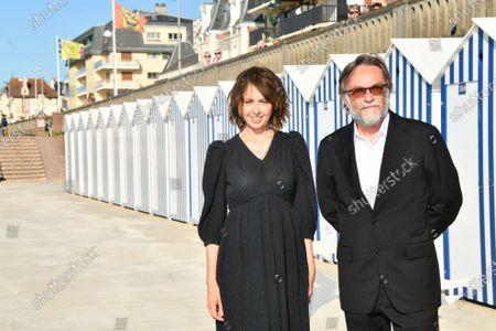 Stock Image of Valerie Bonneton and Marc Dugain
