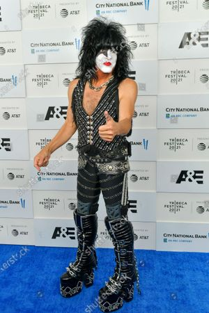 Paul Stanley attends the 'Biography: KISStory' premiere