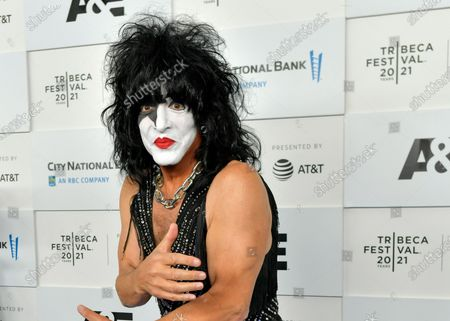 Stock Photo of Paul Stanley attends the 'Biography: KISStory' premiere