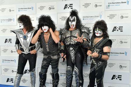 KISS - Paul Stanley, Gene Simmons, Eric Singer, Tommy Thayer