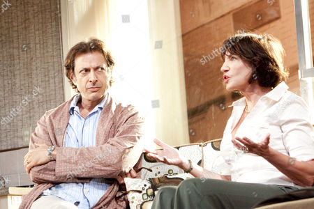 'The Prisoner of Second Avenue' - Jeff Goldblum (Mel Edison), Mercedes Ruehl (Edna Edison)