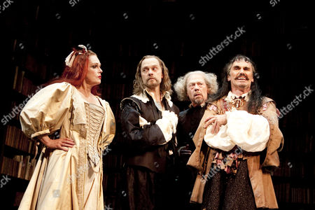 Editorial image of 'La Bete' play at the Comedy Theatre, London, Britain - 05 Jul 2010
