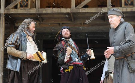 Roger Allam (Falstaff), Sam Crane (Pistol), William Gaunt (Shallow)